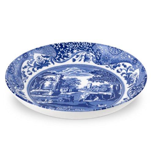 Spode 749151490451 Italian Pasta Bowl, Set of 4, Blue, White, 9