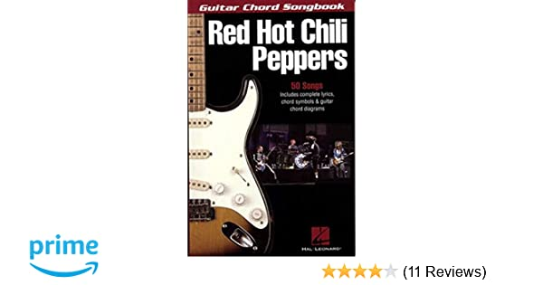 Red Hot Chili Peppers Guitar Chord Songbook Guitar Chord Songbooks
