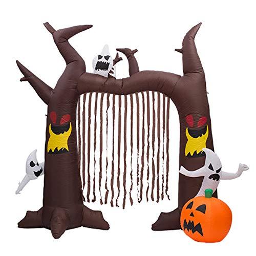 htende Beleuchtung Geisterbogen Halloween Dekoration mit Sensenmann ()