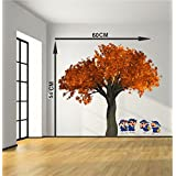 Decorative PVC Vinyl Removable Decor Wall Stickers Decal Wall Sticker Home Decor Cartoon Wall Sticker Decorative Stickers Wallpaper For Kids Home Living Room Bedroom Kitchen Office By MADHUBAN Décor