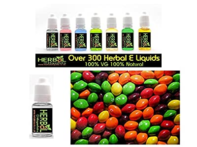 Skittles Herbal E Liquids 30ml 100% VG 0 mg Nikotin von Herbal E Liquids