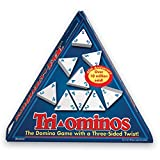 Pressman 4420 - Tri-ominos - the Domino Family Game with a 3 Sided Twist - Triominos Toy