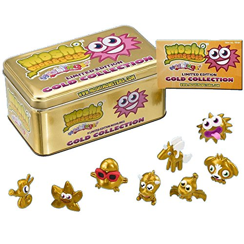 Moshi Monsters Doré Collection Moshlings Jeu de Cartes