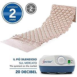 AIESI-Colchn-Antiescaras-de-aire-con-compresor-ajustable-de-ciclo-alterno-DOCTOR-MATTRESS-130-celdas-Capacidad-150-Kg-Sper-silencioso-Ganchos-de-acero-Garanta-24-meses