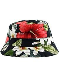 Agora Hibiscus Bucket Hat Chapeau