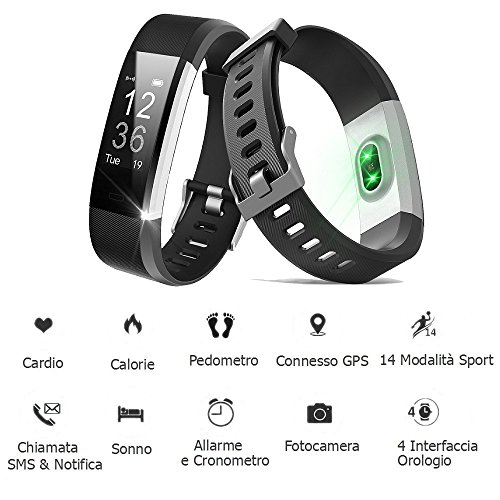 Zoom IMG-1 willful activity tracker sport bracciale
