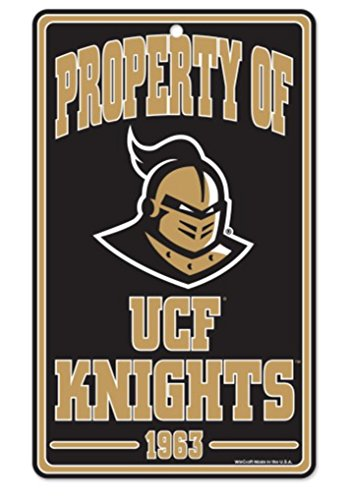 Wincraft NCAA Universität Central Florida Champ/Prop von Kunststoff Schild, 18,4x 30,5cm Central Florida Ucf Golden Knights
