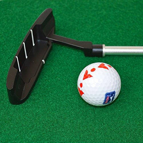PGA TOUR Indoor Putting Set – Putting Matte mit Putter - 4