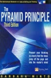 Pyramid Principle: Present your thinking so clearly that the ideas jump off the page and into the reader's mind