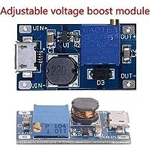 CALISTOUK 2A Booster Board DC-DC Step-up Module 2/24V Boost To 5/9/12 / 28V, Adjustable