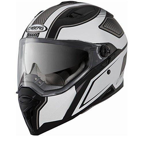 Matt Black/Anthracite nuova lama Caberg Stunt moto casco