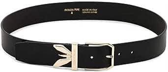 PATRIZIA PEPE Cintura in pelle di vitello nera 2V9391A6O5