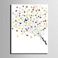 Personalizzato delle impronte digitali stampe su tela pittura - volo Sim (include 12 colori di inchiostro) , blank ,