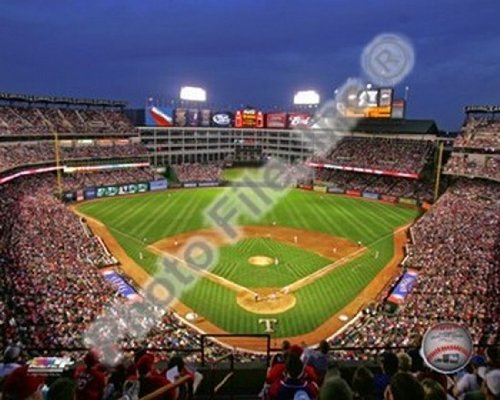 Rangers Ballpark In Arlington (Rangers Ballpark in Arlington - 2009 Photo Print (25,40 x 20,32 cm))