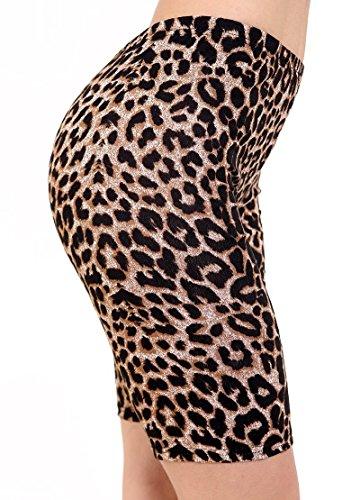 Trendy.Clothing - Short - Femme Imprimé léopard