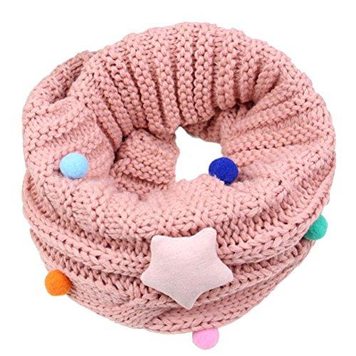Bufandas Bebé Amlaiworld Niños niñas linda bufanda Otoño invierno algodón O  cuello anillo bufandas (45 d447a6cb96f