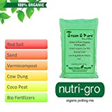 #5: Green & Pure - Ready to Use Organic Potting Mix / Plant manure / Potting Soil for Kitchen / Home / Terrace Garden - 5Kg ( 1 x 5Kg Bag )