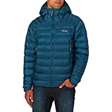 RAB MENS ELECTRON JACKET INK/MIMOSA (SMALL)