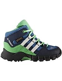 Adidas Terrex Mid GTX I - Botas de senderismopara niños, Azul - (Azubas/Blatiz/Verene), 27