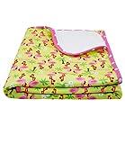 EveryKid Maximo Babydecke Jungen Mädchen Erstlingsdecke Kinderwagendecke Kuscheldecke Wickelunterlage gemustert für Babys (MX-75300-977900-S17-BU3-0007-OS) in Flamingo, Größe OS inkl Fashionguide