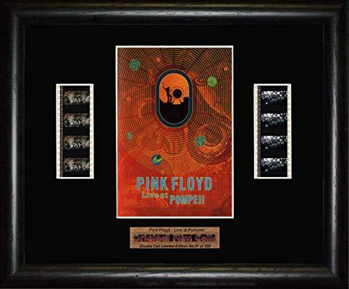 www.filmcellsdirect.com Pink Floyd Live at Pompeii Gerahmtes Bild mit doppelter Filmstreifen, BD