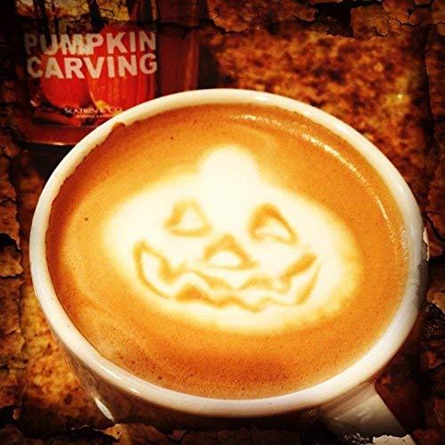 Ungfu Mall Schablonen für Halloween, Kaffee, 16-teiliges Set (Halloween Kaffee Schablonen)
