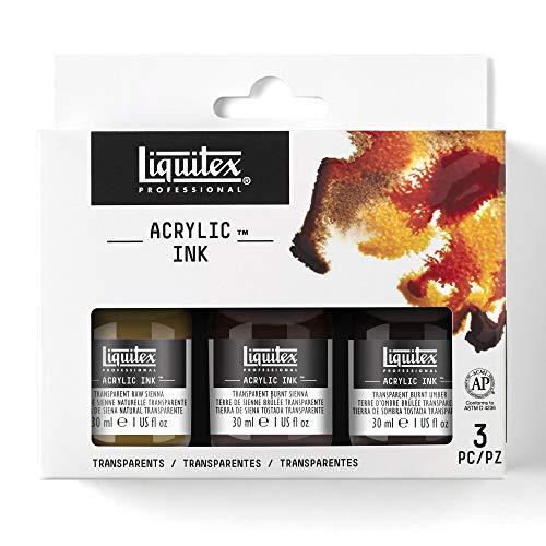 Liquitex Colores acrílicos, 3,2x 18x 15, 9cm, Transparentefarben, 3,7 x 13 x 12 cm