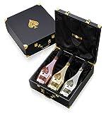 Armand de Brignac Trilogie NV Champagne Gift Set 3 x 75cl Bottles - Slight damage to lid.