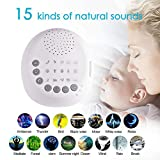 KILLYSUFUY Noise Cancelling Machine Sleep Sound Machine Noise Machine for Sleeping s Baby Adult Traveler Portable Digital USB Rechargeable Machines Home Office