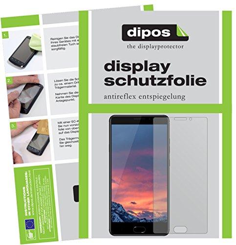 dipos I 2X Schutzfolie matt passend für Vernee Thor Plus Folie Bildschirmschutzfolie