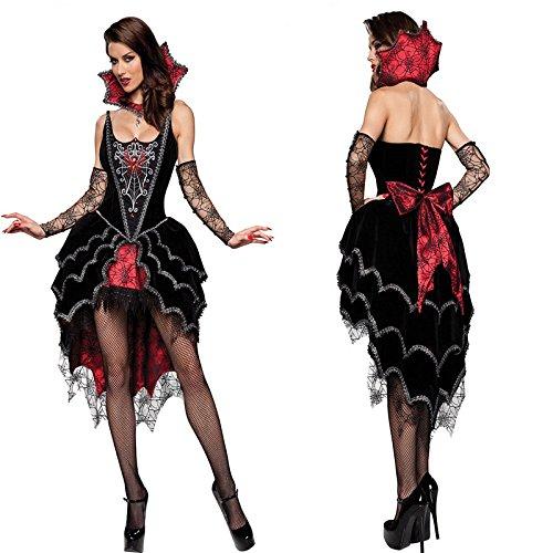 Gorgeous Cosplay Halloween Vampir-Königin Hexe-Kostüm -Ballettröckchen Kostüme (Kaninchen Kostüm Vampir)