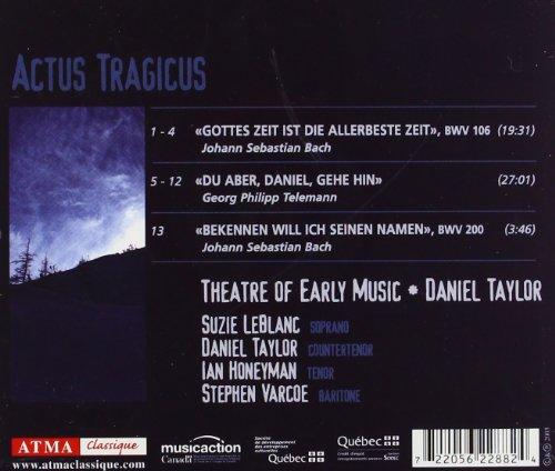Actus Tragicus / Theatre of Early Music