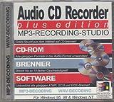 Audio CD-Recorder. MP3 Musikfiles auf CD-ROM Brennen mit bis zu 10 Facher Geschwindigkeit
