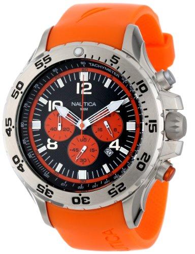 nautica-nst-homme-53mm-chronographe-orange-caoutchouc-bracelet-montre-n14538g