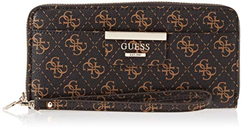 Guess Damen Bobbi Geldbörse, Braun (Brown/Bro), 21x10x2.5 Centimeters
