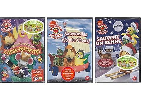 Wonder Choux - trilogie 3 DVD (Nickelodeon Wonder Pets)