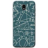 Brainiac l'Intelligence Geek Nerd Science Boffin téléphone Housse/Coque rigide pour téléphone portable Samsung, plastique, Math Equations & Formulas, Samsung Galaxy J5 (2017) (J530)
