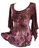 Versandhausware Tunika Longshirt Batik Flower 914638 (40/42)