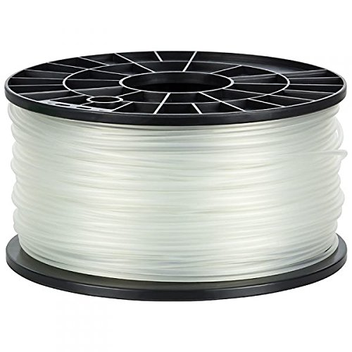NuNus ABS Filament 1kg für 3D Drucker MakerBot RepRap MakerGear Ultimaker uvm. (transparent, 3,00mm)