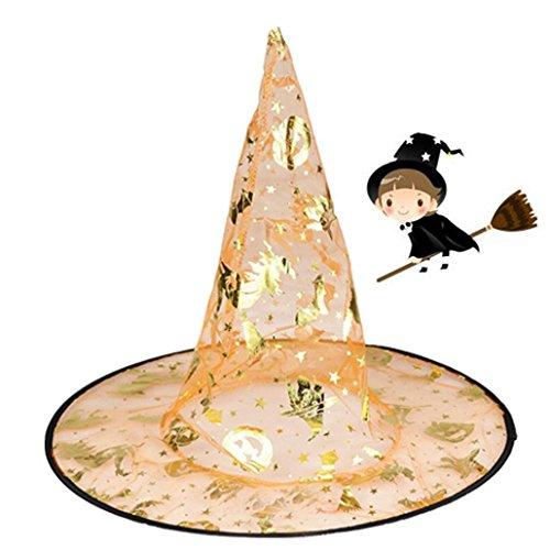 Gesicht Kostüm Ratte (Halloween-Hut,Erwachsene Womens Kinder Hexe Hut für Halloween Kostüm Zubehör Cap By)