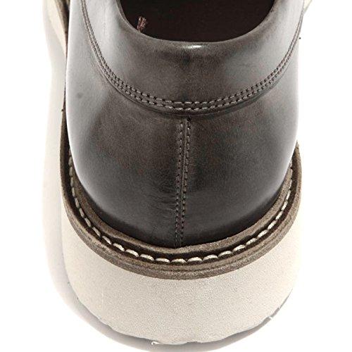 90246 mocassino HOGAN H 217 ROUTE scarpa uomo loafer shoes men Grigio