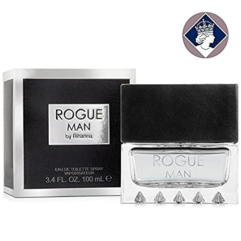 Rihanna Rogue Man 100ml/3.4oz Eau De Toilette Spray Cologne Fragrance for Him