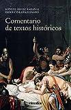 Comentario de textos históricos (Historia. Serie Menor)
