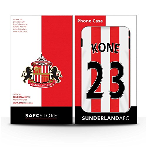 Offiziell Sunderland AFC Hülle / Glanz Snap-On Case für Apple iPhone 6S+/Plus / Pack 24pcs Muster / SAFC Trikot Home 15/16 Kollektion Kone