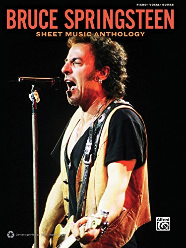 Bruce Springsteen - Sheet Music Anthology: Piano/Vocal/Guitar Sheet Music Songbook Collection (English Edition)