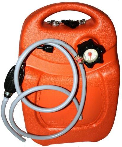 Set completo per serbatoio fuoribordo, da 25 l, con indicatore, tubo di benzina, con palla di pompaggio, raccordo SUZUKI