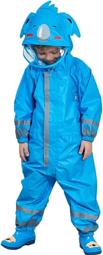 Aden Kinder Leicht Regenanzug Regen-Overall Regenmantel Regenponcho