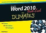 Word 2010 für Dummies Ruck-Zuck