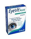 HealthAid EyeVit Plus - Omega 3, Lutein, Zeaxanthin - 30 Capsule