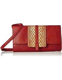 Baggit Women's Sling Bag (Scarlet)